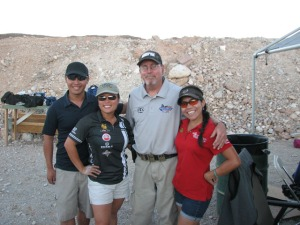 Me with the TOP Shots at the 2012 USPSA Nationals